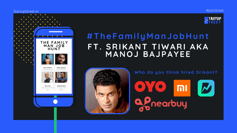 The Family Man, Manoj Bajpayee is on the Job Hunt – A Campaign by Amazon Prime