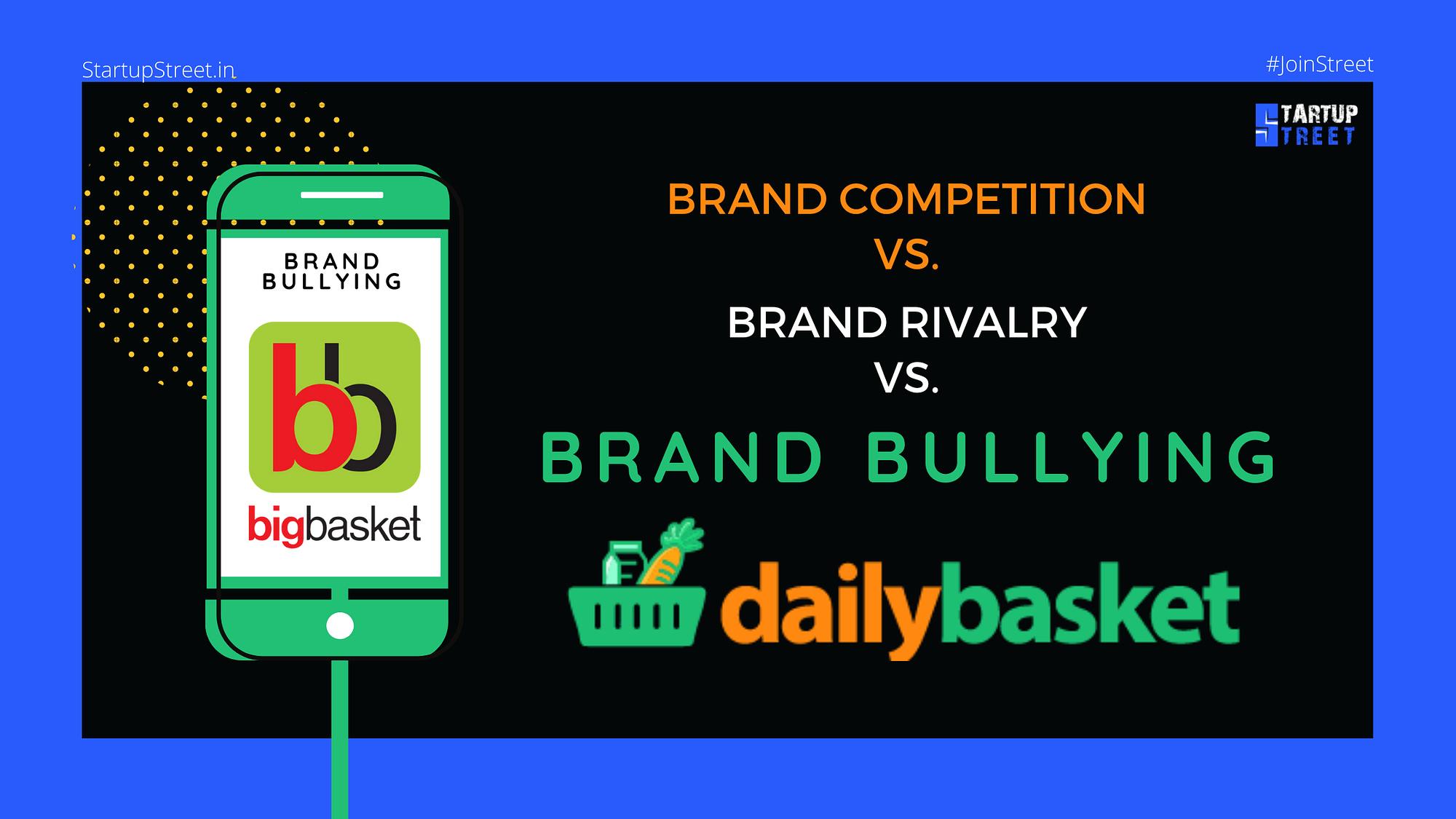 Brand Competition vs brand rivalry vs brand bullying-StartupStreet Blogs